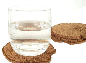 Tree Trunk Placemat Coaster Set (8 pieces)