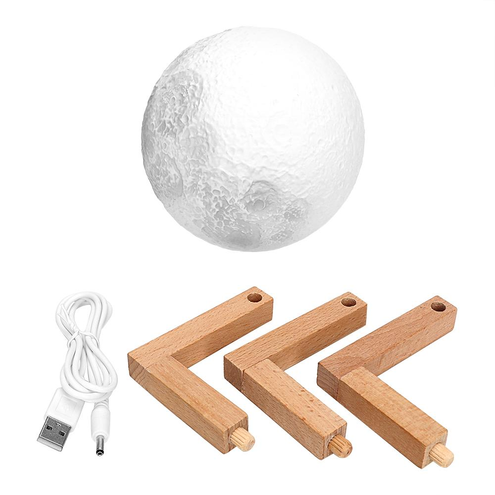 3D Moon Desk Lamp