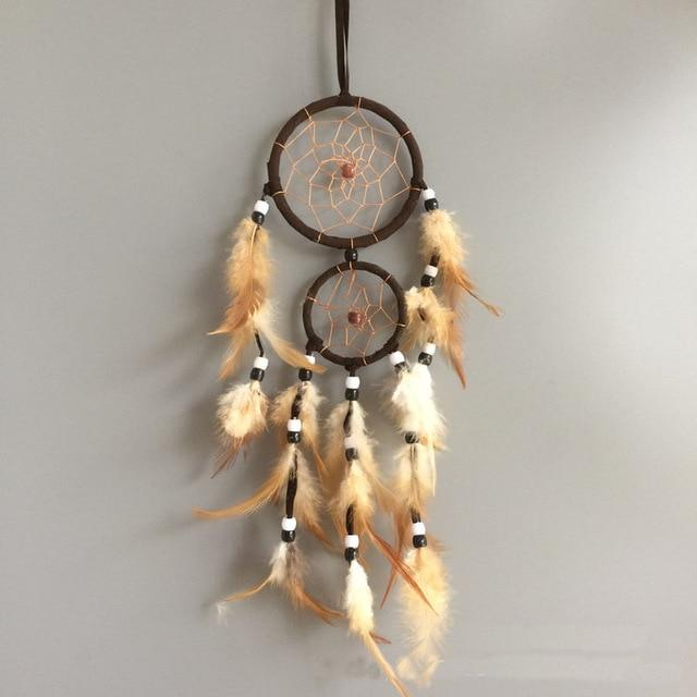 Brown Feather Dream Catcher
