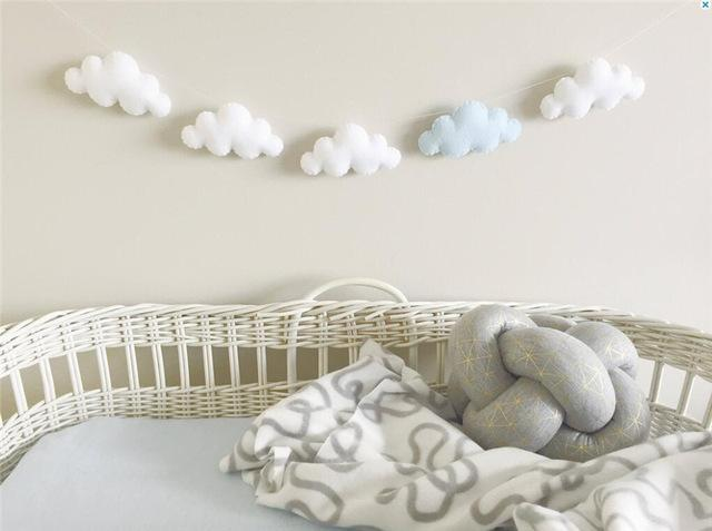 Fluffy Cloud Garland