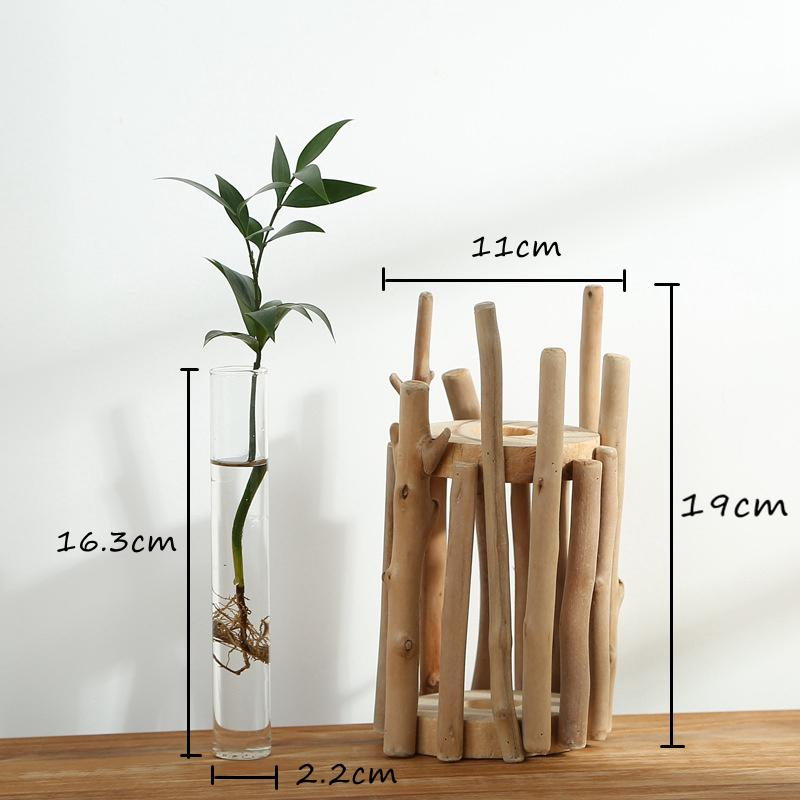 Creative Fenced Tabletop Vase