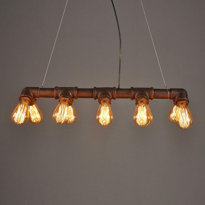 American Styled Pipe Pendant Light