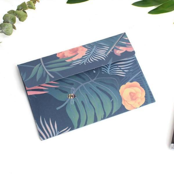 Flamingo Greeting Card & Envelope (5 Set)