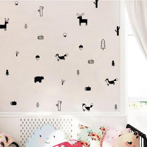 Nordic Woods Wall Decals