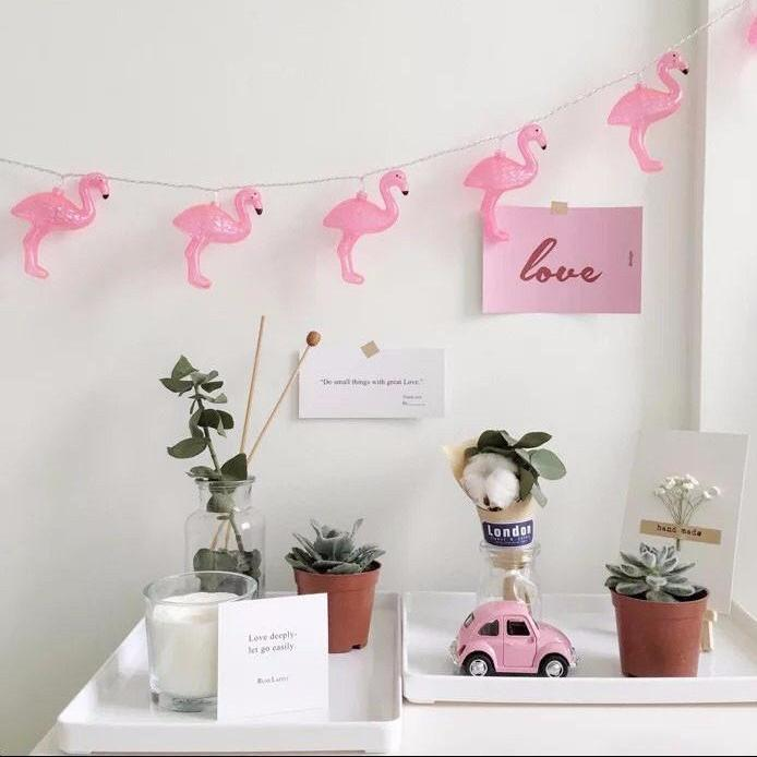 LED Flamingo Fairy Lights
