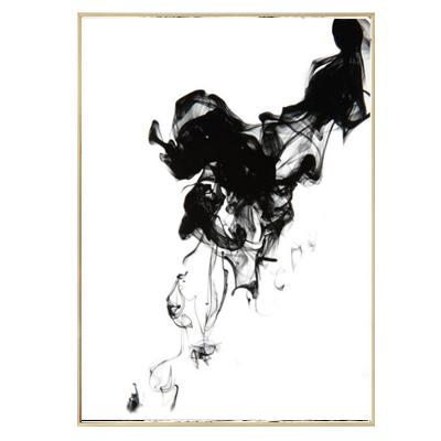 Ink Abstract Canvas Wall Art