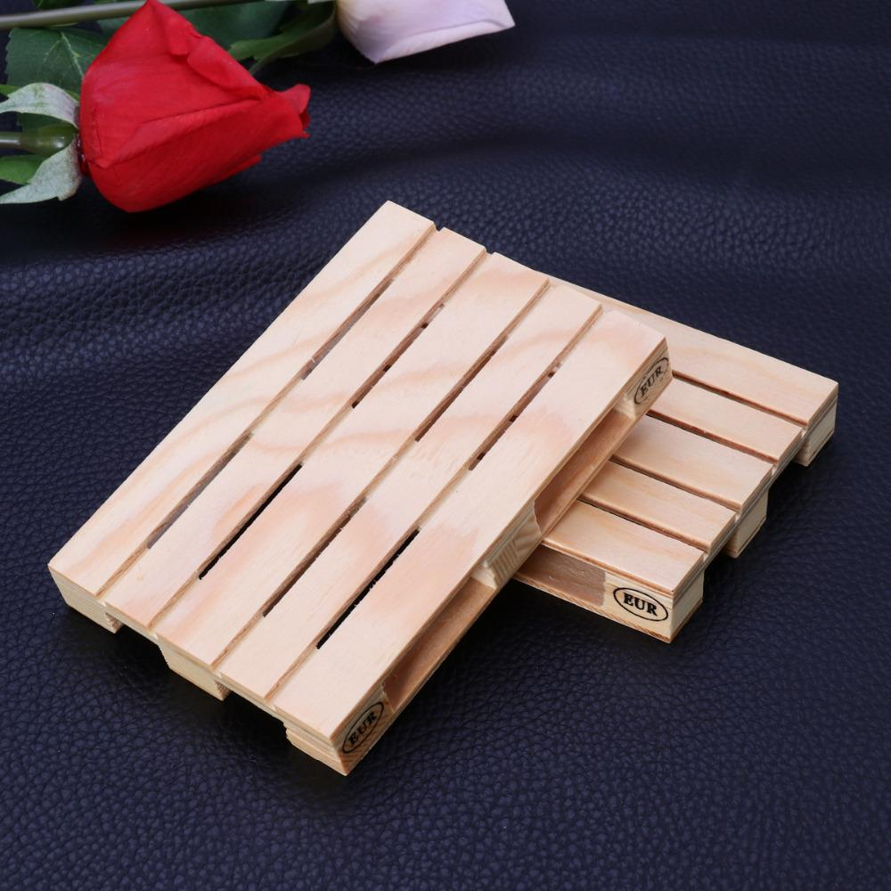 Mini Pallet Wooden Coaster Set (3 Pieces)