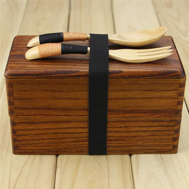Handcrafted Wooden Lunchbox