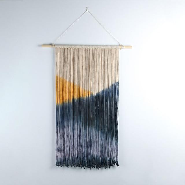 Sunrise Macrame Tapestry