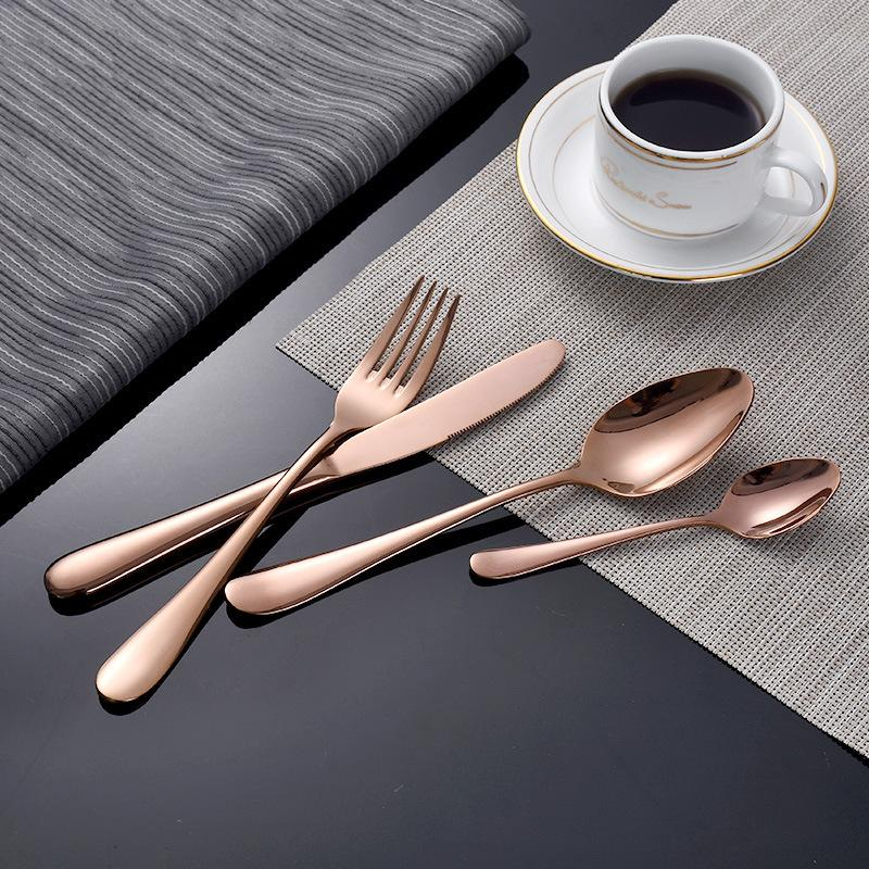 The Essential Silverware Set - Rose Gold