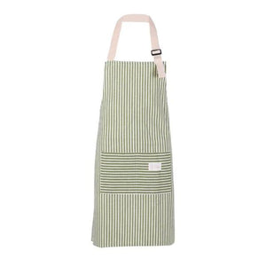 Pinstripe Kitchen Apron