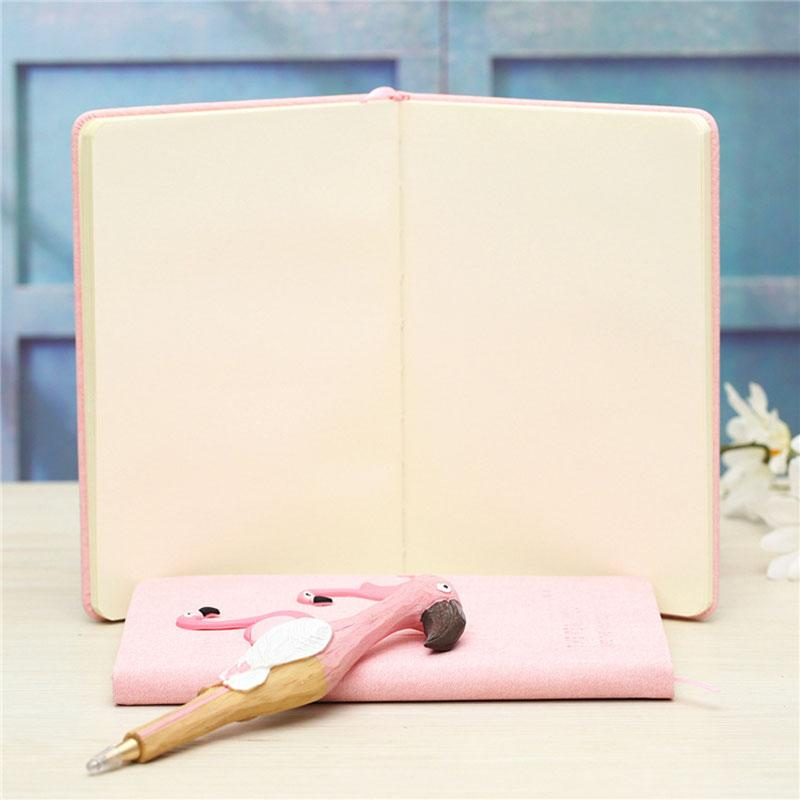 Cute Pink Flamingo Notebook Gift Set