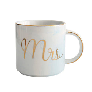 Mr & Mrs Matching Coffee Mugs