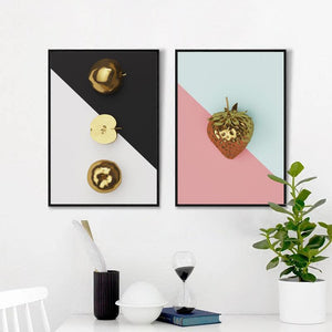 Vibrant Fruit Canvas Wall Art
