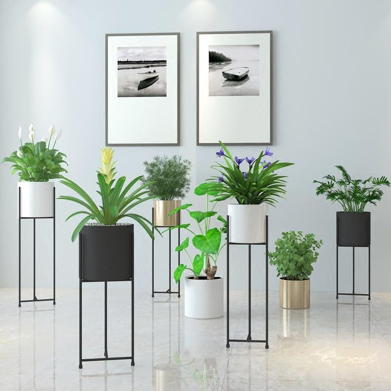 Tall Classy Plant Stand and Pot