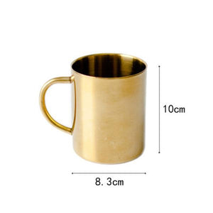 Gold and Rose Gold Mugs