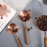 Rose Gold Measuring Spoon Set (4 pieces)