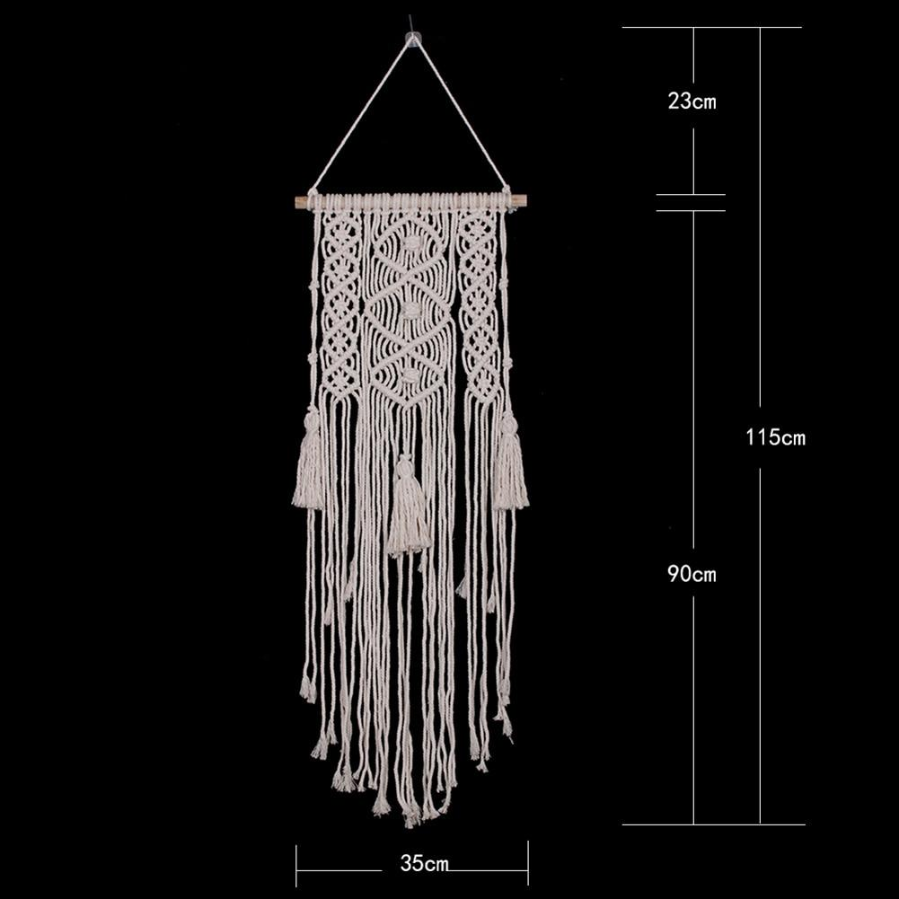 Three Knot Macrame Tapestry