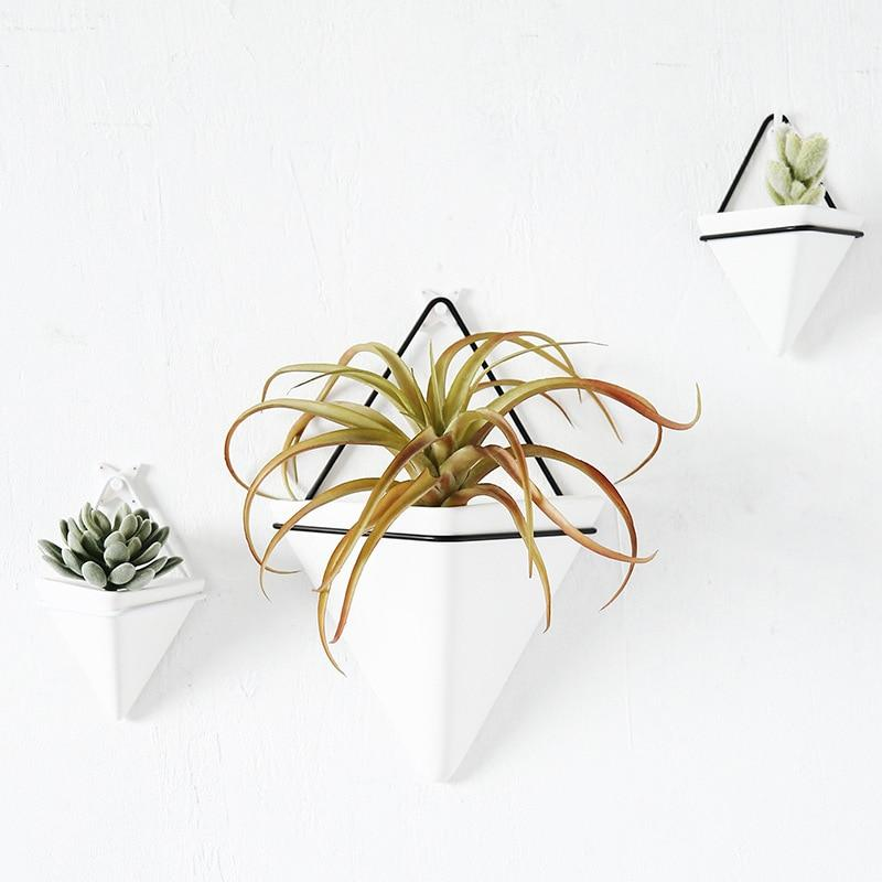 Nordic Triangular Wall Vase