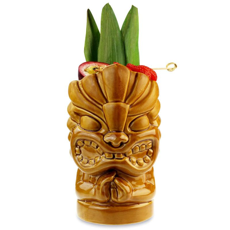 Yellow Tiki Cocktail Cup