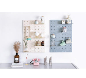 Hild™ - Wall Hanging Storage Shelf with Hooks