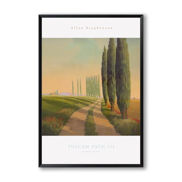 Tuscany Landscapes Canvas Wall Art