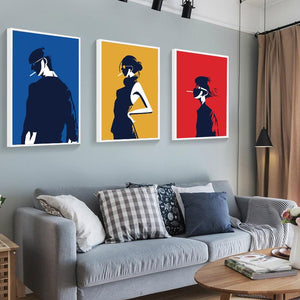Vibrant Bold Canvas Wall Art
