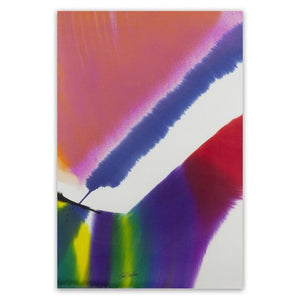 Abstract Watercolour Canvas Wall Art