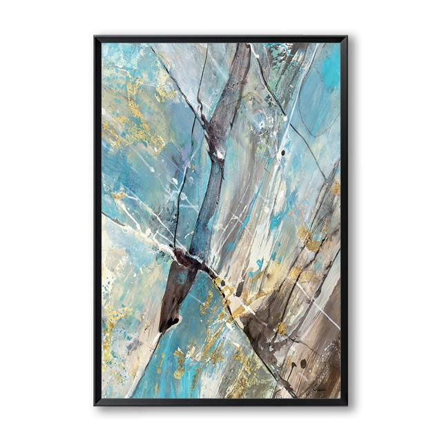 Abstract Splash Canvas Wall Art