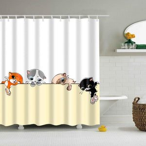 Kitten Shower Curtain Ivy And Wilde