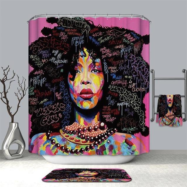 Disco Queen Shower Curtain