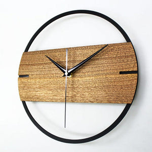 Nordic Wooden Open Frame Wall Clock