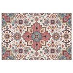 Geometric Moroccan Rugs - Pink/Red/Yellow