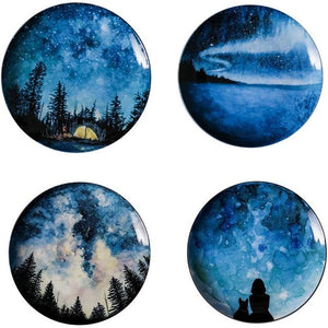 Starry Night Dinner Plates