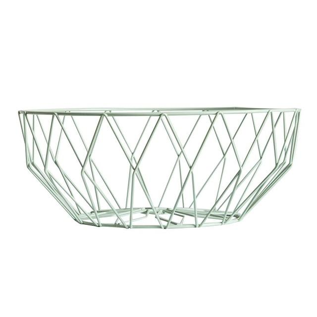 Modern Iron Storage Basket