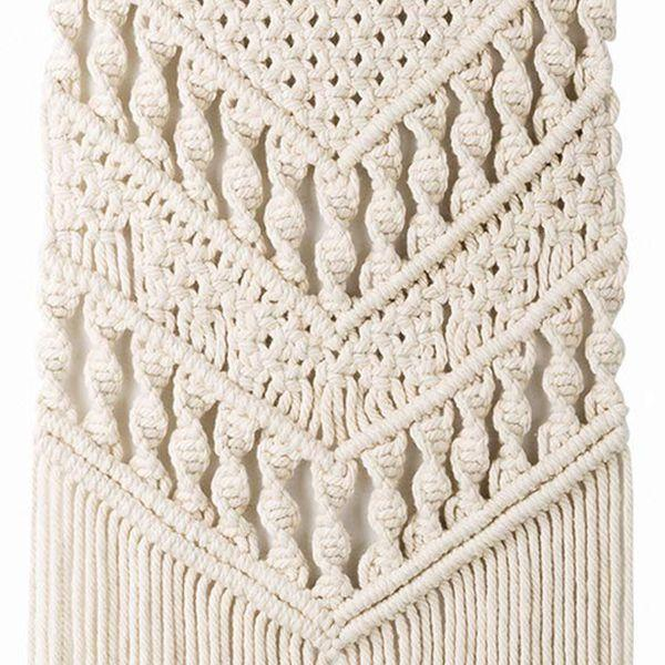 Double V Macrame Tapestry