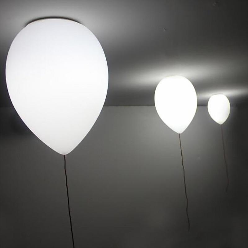 White Balloon Ceiling Light