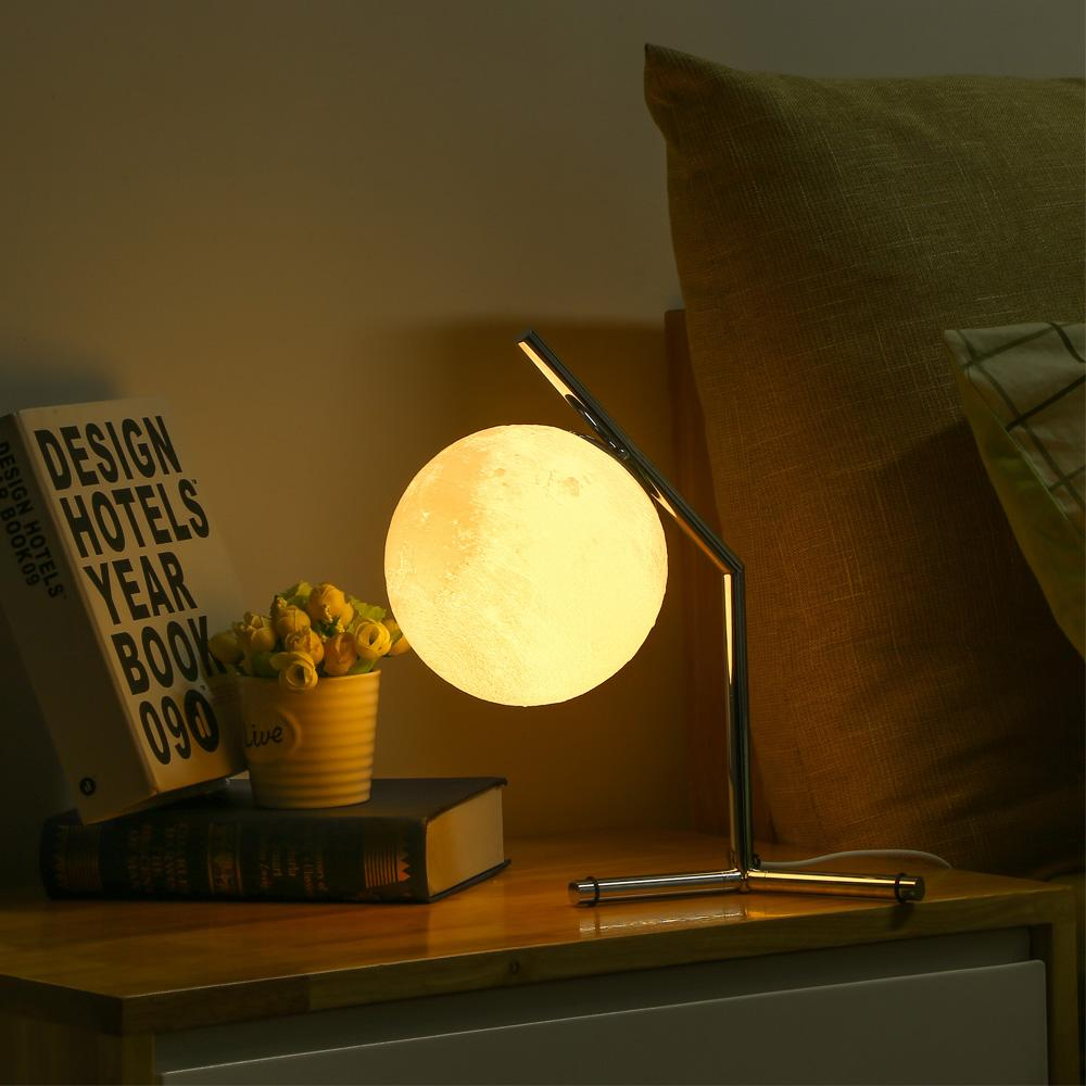 3D Moon Night Desk Lamp