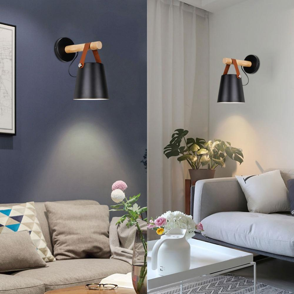 Nordic Strapped Wall Mount Lamp
