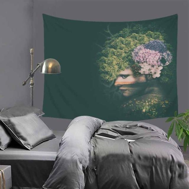 Tree Spirit Wall Tapestry