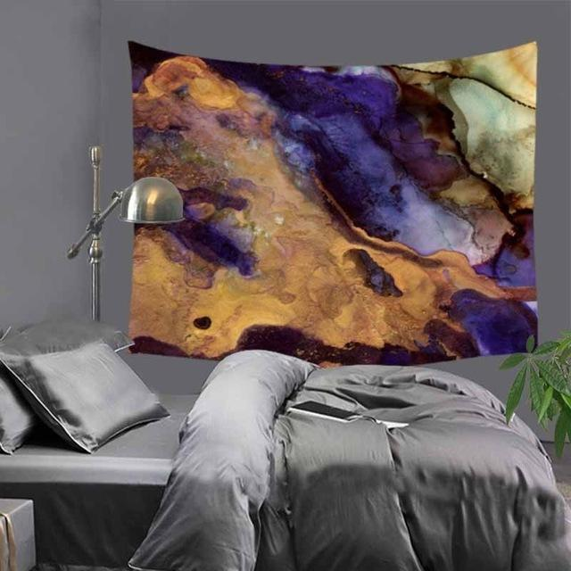 Abstract Ink Tapestry