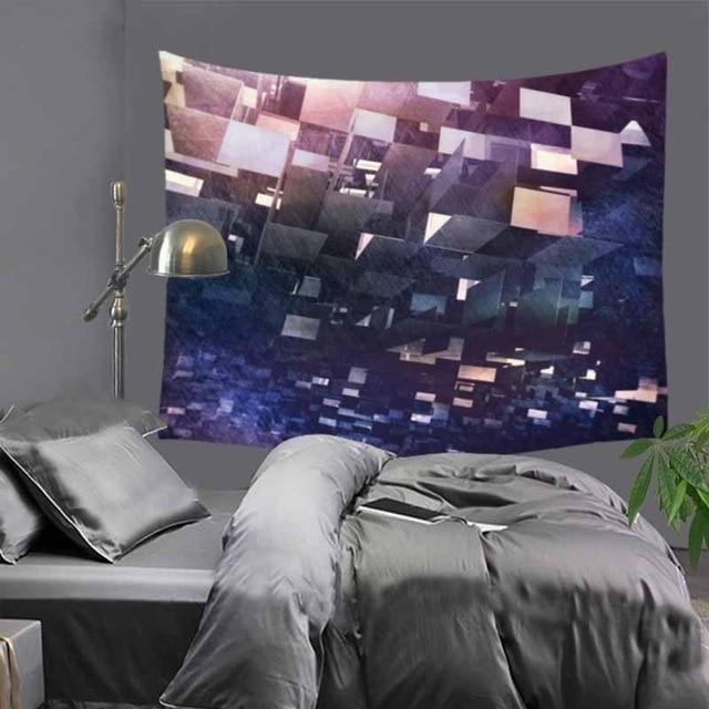 Abstract Purple Tapestry