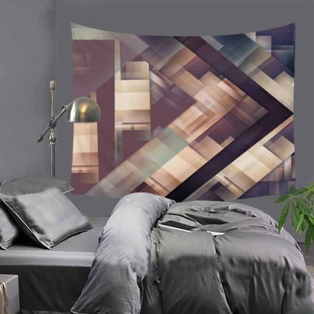 Abstract Cubic Tapestry