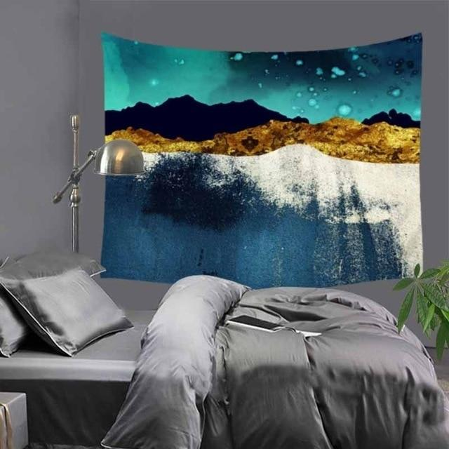 Abstract Night Sky Tapestry