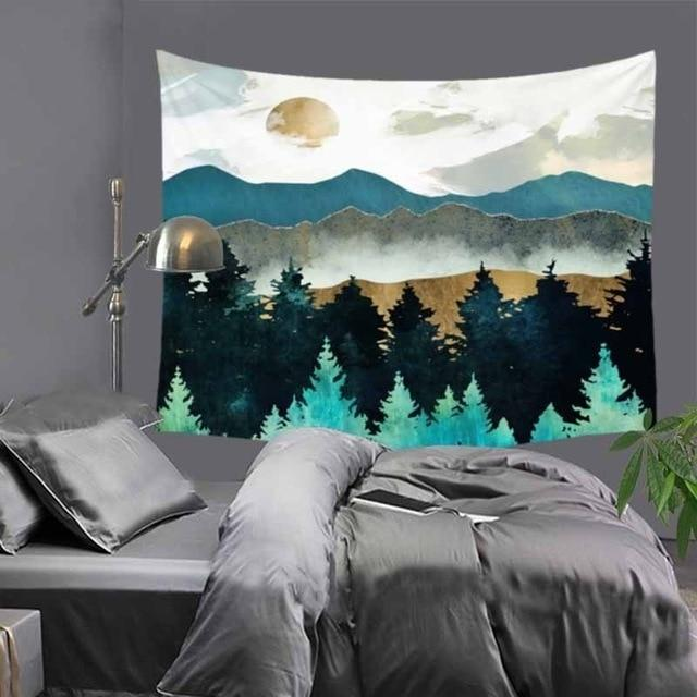 Abstract Lake Tapestry