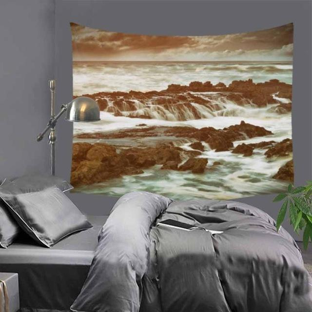 Nordic Mountains Tapestry