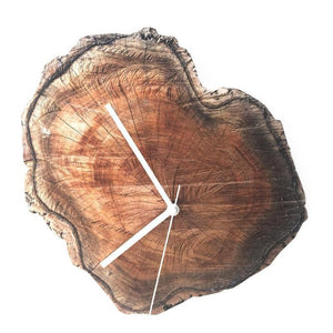 Rustic Wooden Wall Clock