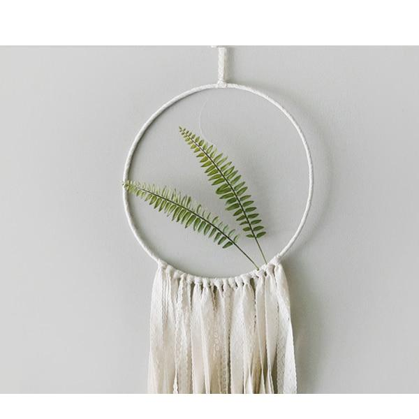 Plant Leaf Dreamcatcher