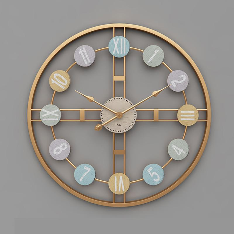 Creative Open Frame Wall Clock