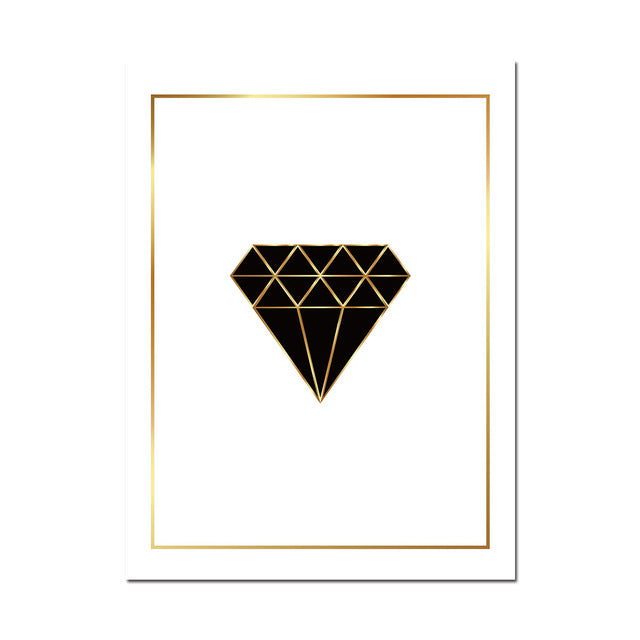 Geo Diamond Canvas Wall Art - Unframed - MultiColor - Piper Sloane  sc 1 st  Piper Sloane & Geo Diamond Canvas Wall Art - Unframed - MultiColor u2013 Piper Sloane